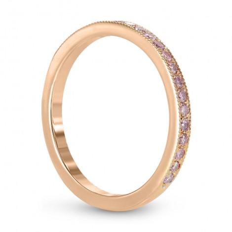 23a1c314d Rose Gold Fancy Light Pink Diamond Half-Eternity Milgrain Wedding Band  Ring, SKU 24936R (0.25Ct ...