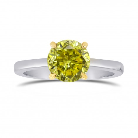 Scalloped Solitaire Diamond Ring Setting, SKU 2508S