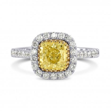 Micro-prong Halo Diamond Ring Setting, SKU 2541S