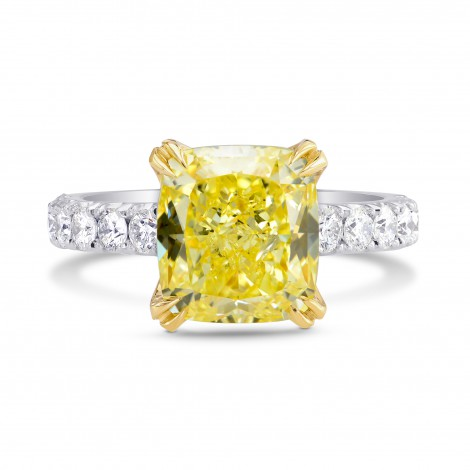Open Pave Diamond Side-stone Ring Setting, SKU 2598S