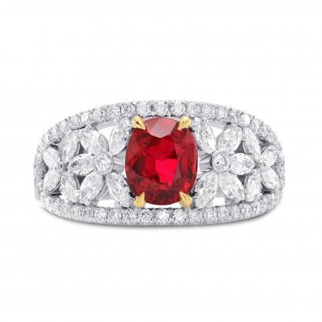 Unheated Ruby & Diamond Dress Ring, SKU 267190 (2.07Ct TW)