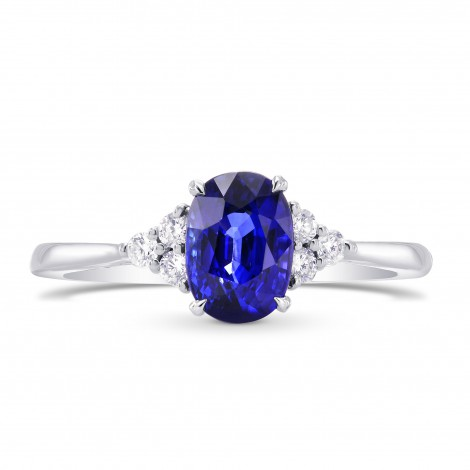 Oval Sapphire & Diamond Accent Ring, SKU 269271 (1.49Ct TW)