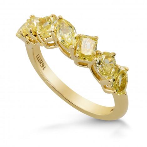 Fancy Yellow Diamond Band Ring, SKU 275479 (1.76Ct TW)
