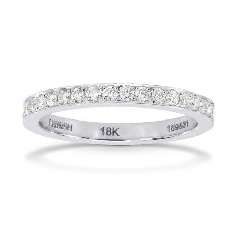 Closed-Pave Half Eternity Diamond Ring, SKU 27562R (0.30Ct TW)