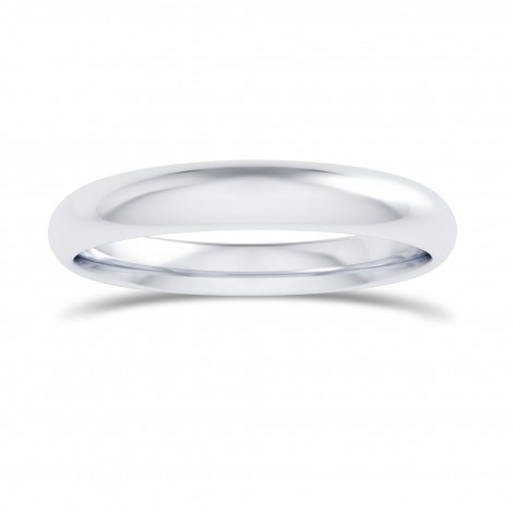 Comfort Fit Domed Wedding Band-3.0MM, SKU 27677R