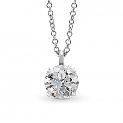 Round Solitaire Diamond Pendant, ARTIKELNUMMER 27865R (0,50 Karat)