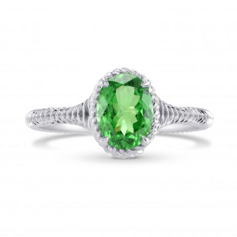 Green Tsavorite Solitaire Ring, ARTIKELNUMMER 280329 (1,28 Karat)