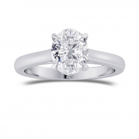 1.00ct. GIA Oval Classic  4 Prong Solitaire Ring, SKU 28102R (1.00Ct TW)