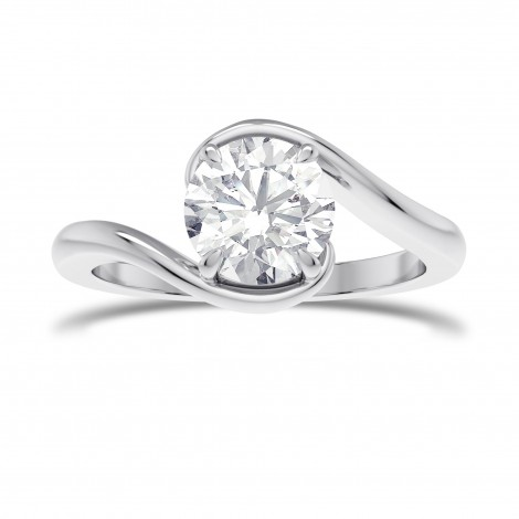 Solitaire Twist Ring, SKU 28165R (1.00Ct)