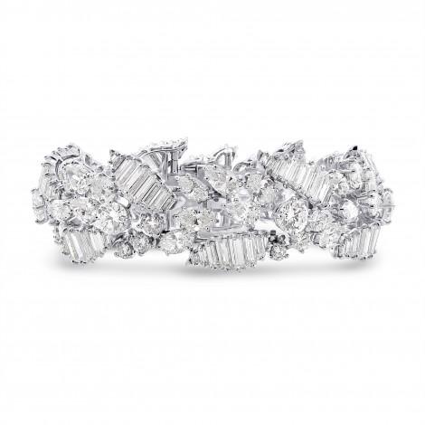 Extraordinary Fancy Shape White Diamond Bracelet, ARTIKELNUMMER 28522V (37,00 Karat TW)