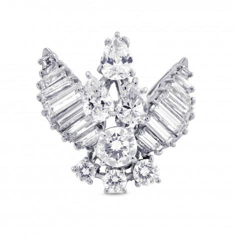 Extraordinary Fancy Shape Diamond Ring, SKU 28523V (4.60Ct TW)