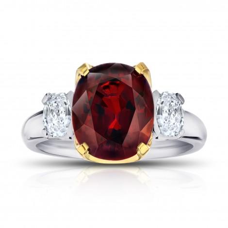 Red Spinel (Burma) and Diamond Ring, SKU 28890V (6.00Ct TW)
