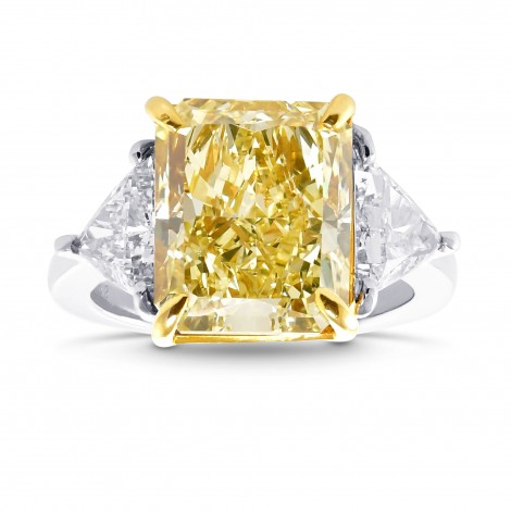 Fancy Yellow Diamond Ring, SKU 28974V (7.07Ct TW)