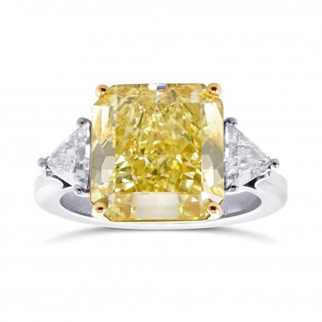 Intense Yellow Diamond Ring, SKU 28979V (6.86Ct TW)