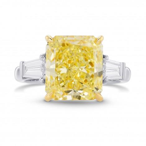 Fancy Yellow Three Stone Diamond Ring, ARTIKELNUMMER 29138V (5,51 Karat TW)