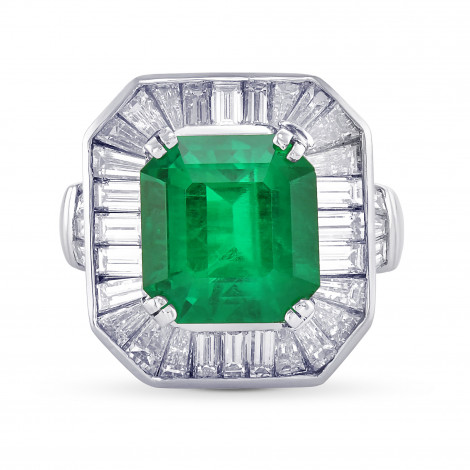 Exceptional Emerald and Diamond Couture Ring, ARTIKELNUMMER 29380V (7,10 Karat TW)