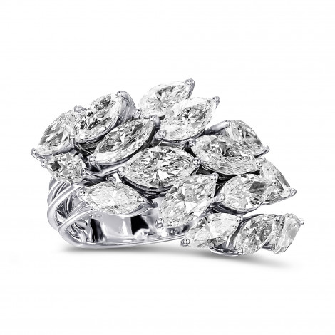 Marquise Cluster Couture Diamond Ring, ARTIKELNUMMER 29713V (5,44 Karat TW)