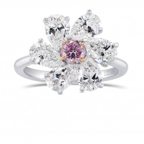 Argyle Fancy Intense Purplish Pink Diamond Ring, SKU 298901 (2.86Ct TW)