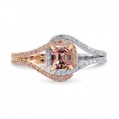 Fancy Intense Pink, Emerald-cut Diamond Dress Ring, SKU 299527 (1.00Ct TW)