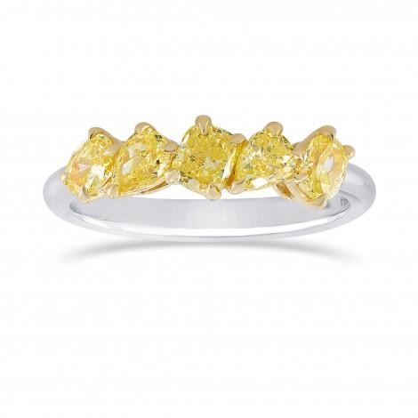 Fancy Yellow Mix Shape Band Ring, SKU 328342 (1.08Ct TW)