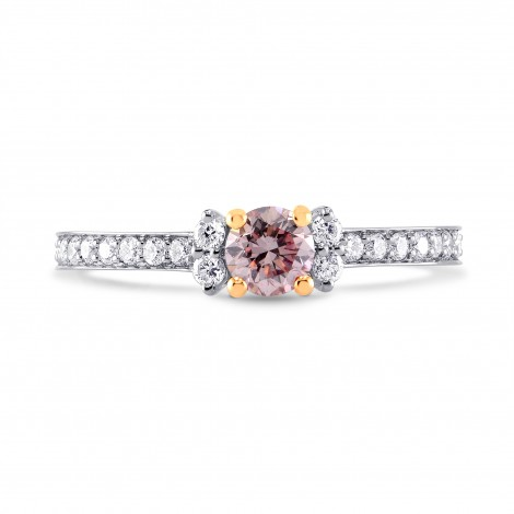 Solitaire Accent & Pave Engagement Ring Setting, SKU 3403S