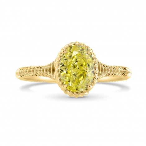 Rope Style Solitaire Ring Setting, SKU 3555S