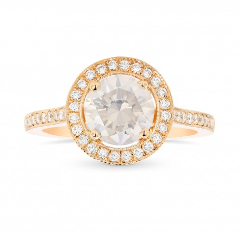 Rose Gold Fancy White Diamond Engagement Ring, ARTIKELNUMMER 369232 (1,56 Karat TW)