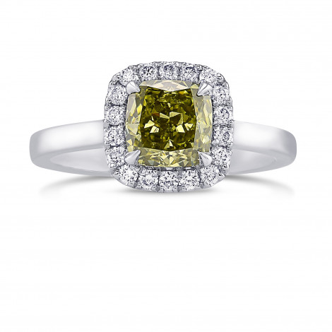 Chameleon Cushion Diamond Halo Ring, SKU 397247 (1.27Ct TW)