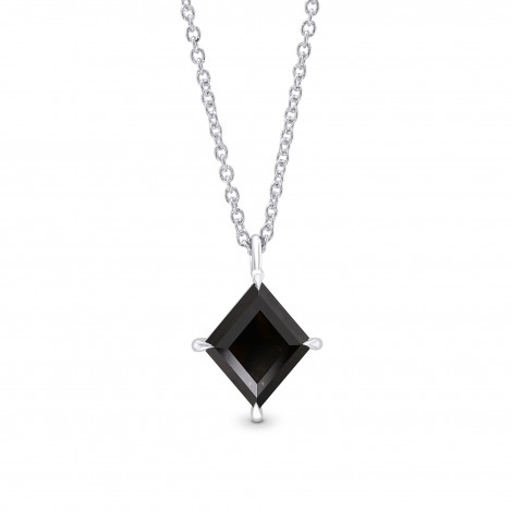 Natural Fancy Black Kite Diamond Solitaire Pendant, SKU 397264 (1.26Ct)