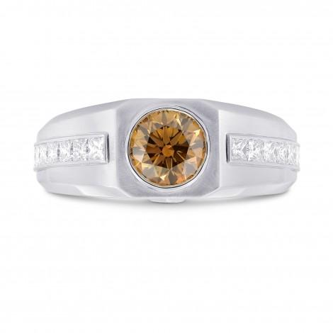 Man's Ring Setting with Princess Cut Diamonds, SKU 40684S