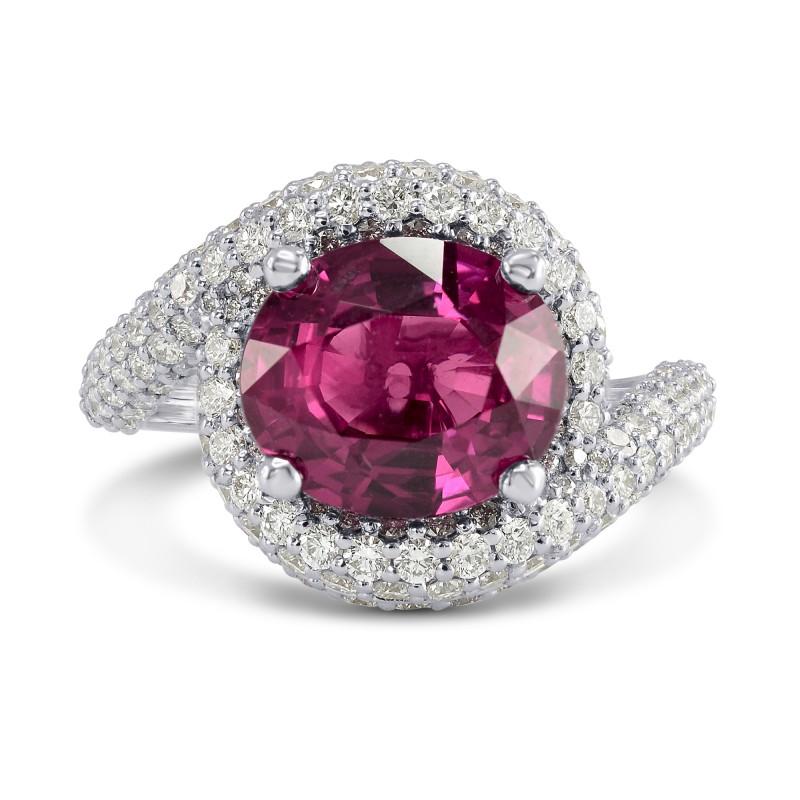 Ruby & Diamond Designer Ring, SKU 160149 (5.46Ct TW)