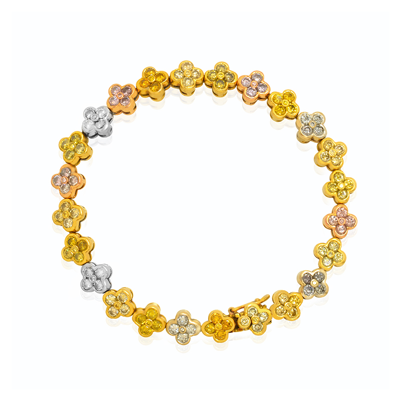 pink,yellow,gray  Diamond