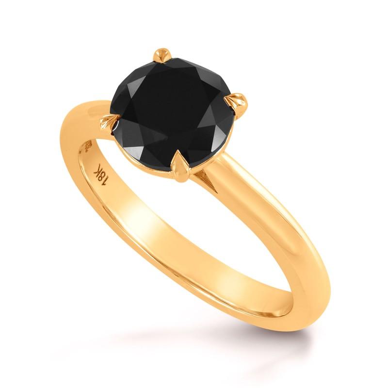 Scalloped Solitaire Diamond Ring Setting, SKU 2508S