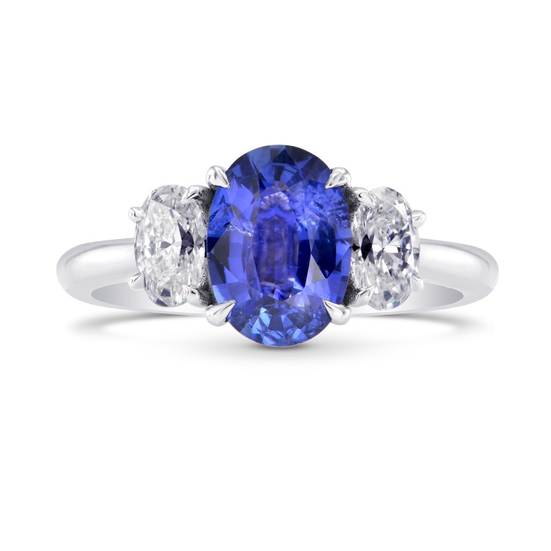 sapphire unique women diamond ring vintage carat engagement blue for and
