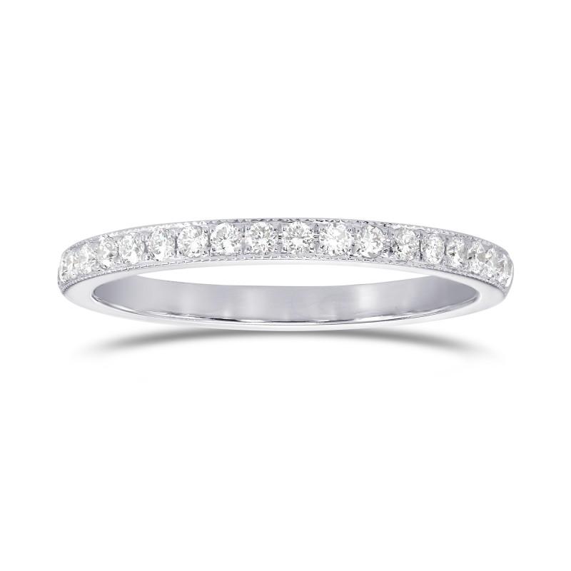 Milgrain Half Eternity Diamond Ring, SKU 25504R (0.25Ct TW)