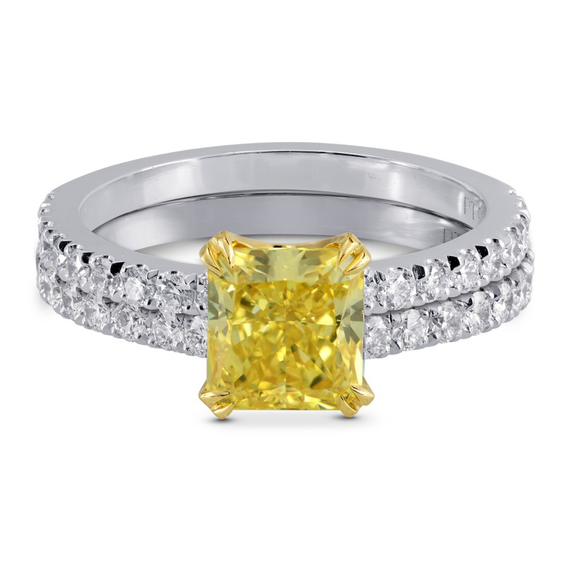 Open Pave Diamond Engagement & Wedding Set, SKU 2598WS