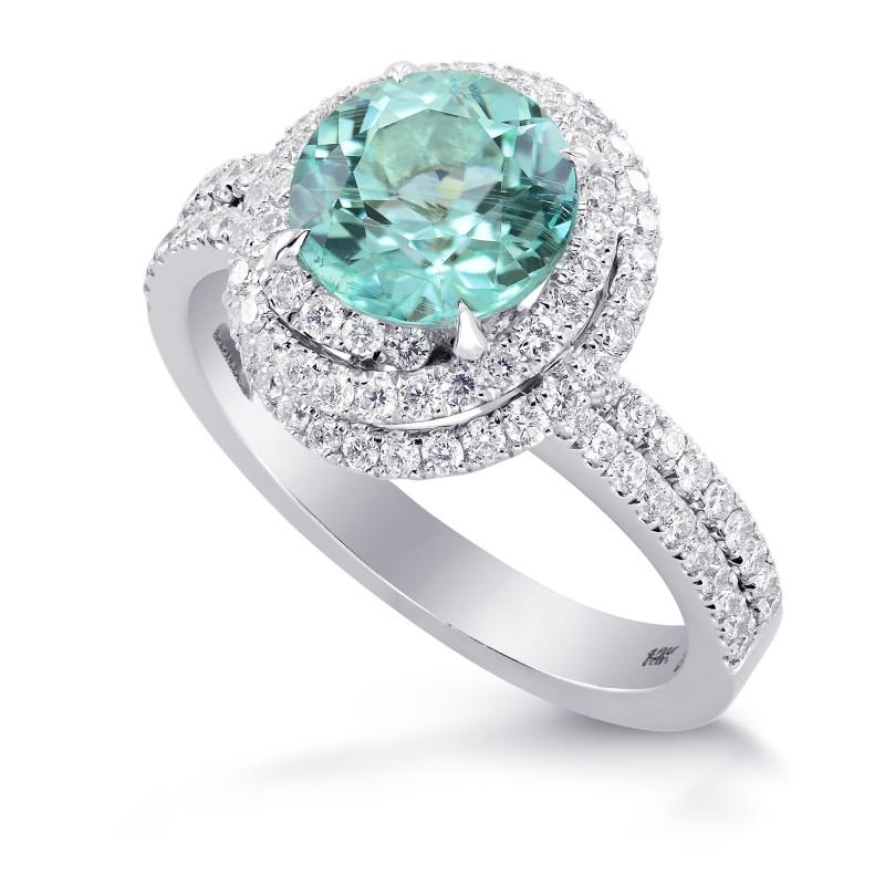 Paraiba Tourmaline & Diamond Designer Ring, SKU 262277 (2.49Ct TW)