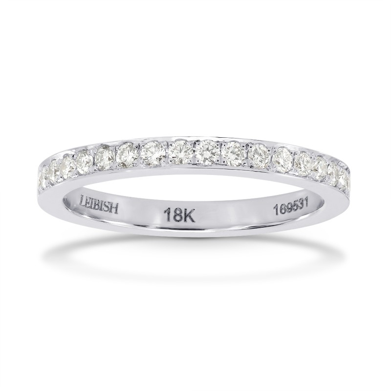 Closed-Pave Half Eternity Diamond Ring, SKU 27562R (0.30Ct TW)