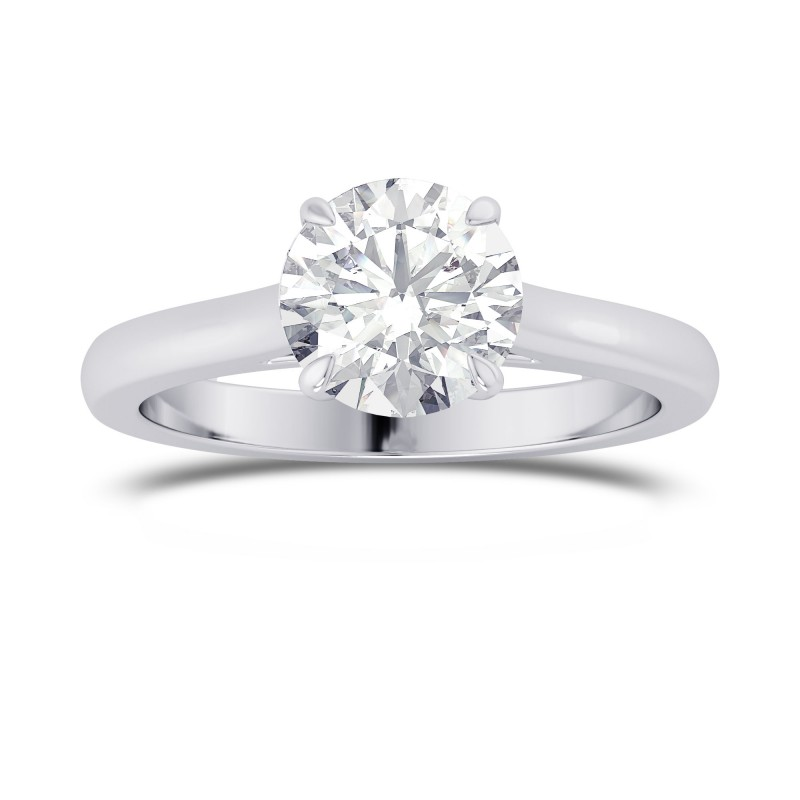 1.00ct GIA Round Brilliant Classic 4 Prong Solitaire Ring, SKU 28101R (1.00Ct TW)