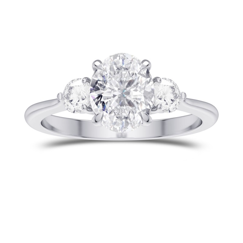 collection ring carat jewelry rings stone diamond three