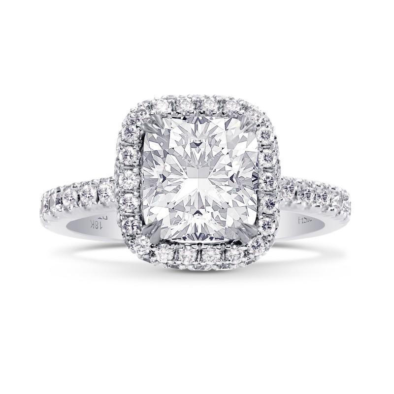 GIA Cushion Diamond Regal Halo Ring, SKU 28121R (2.55Ct TW)