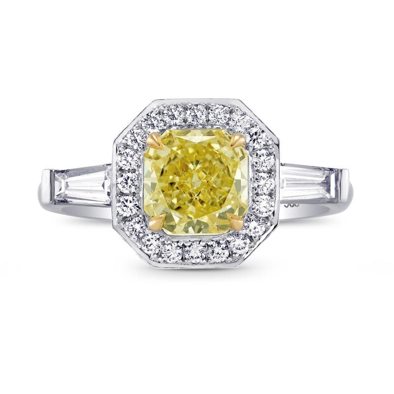 Halo and Taper Diamond Ring Setting, SKU 2823S