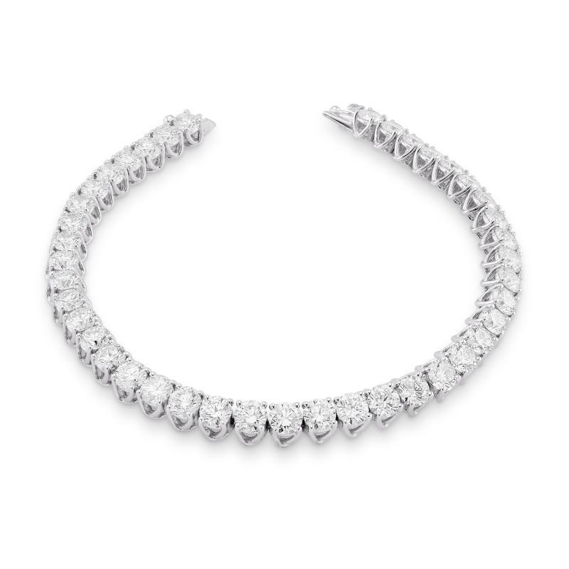 Round Brilliant Diamond Tennis Bracelet, SKU 28373R (9.00Ct TW)