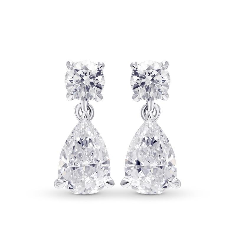 Pear Diamond Drop Earrings, SKU 28817L (1.80Ct TW)