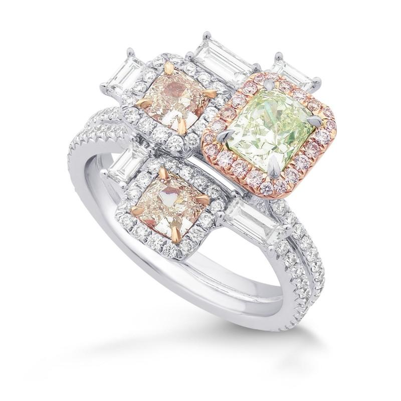 'Stepping Stones' Extraordinary Designer Diamond Ring, SKU 294665 (2.49Ct TW)