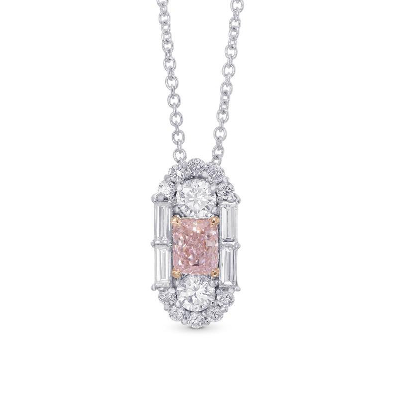 Extraordinary Fancy Light Pink Diamond Art Deco Pendant, SKU 342862 (1.30Ct TW)