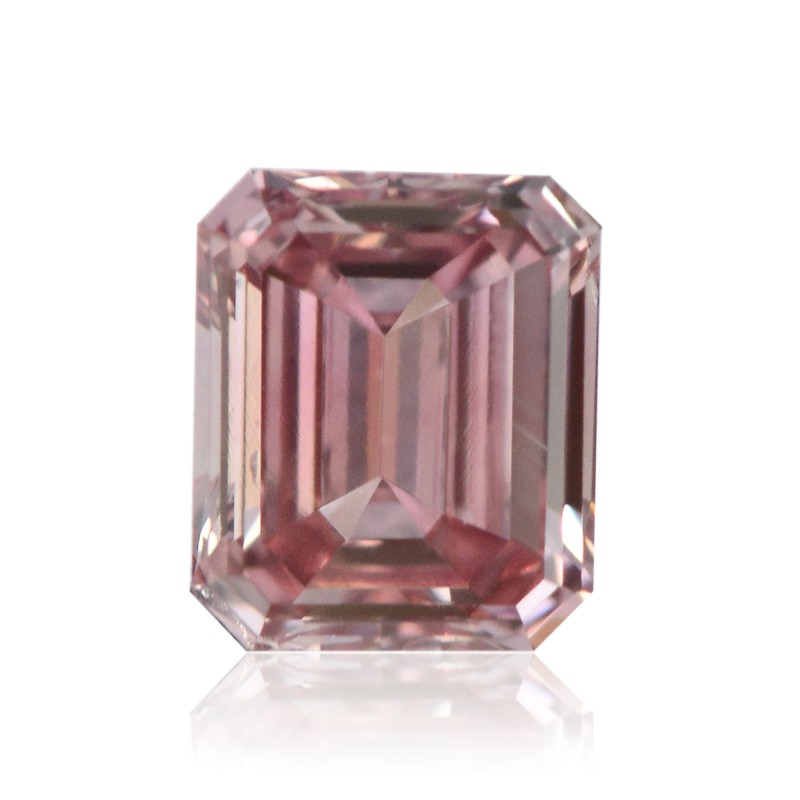 0.23 carat, Fancy Intense Pink, Emerald Shape, VS1 Clarity, ARGYLE & GIA