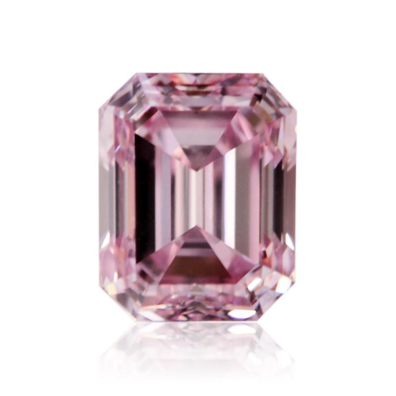 0.25 carat, Fancy Intense Purplish Pink, Emerald Shape, VVS2 Clarity, ARGYLE & GIA