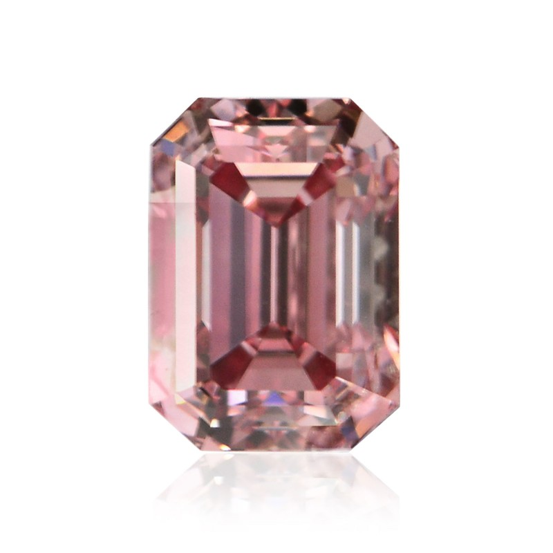0.29 carat, Fancy Intense Pink, Emerald Shape, VS2 Clarity, ARGYLE & GIA