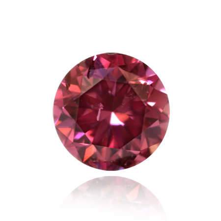 0.29 carat Fancy Intense Purple Pink diamond